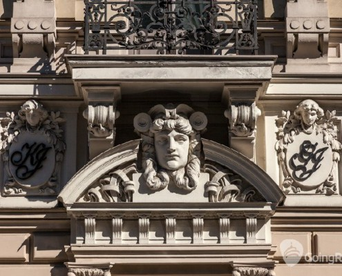 Latvia_Riga_Art Nouveau_shutterstock_99780140